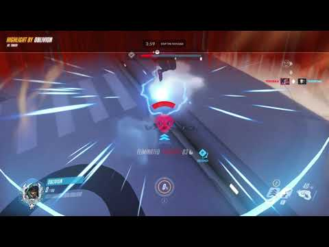 Overwatch - Tracer's Unlucky Pulse Bomb