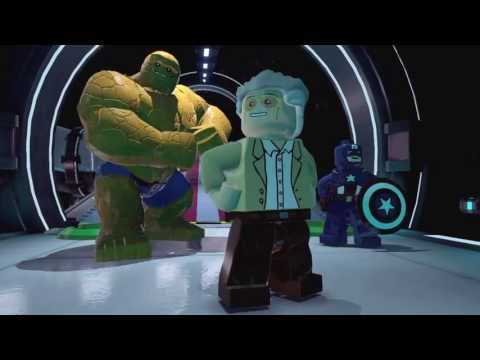 Lego marvel super heroes новый трейлер