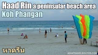 Haad Rin a peninsular beach area Ko Pha Ngan