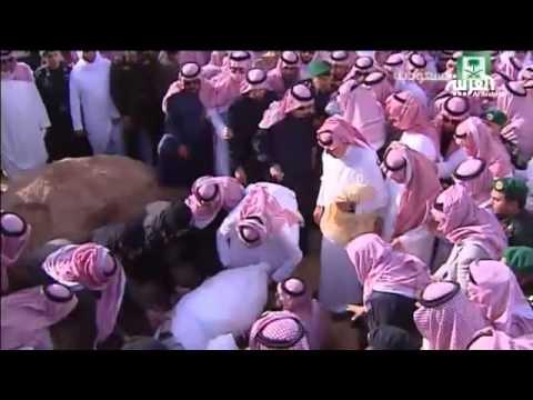 هذا قبر الراحل الملك عبد الله