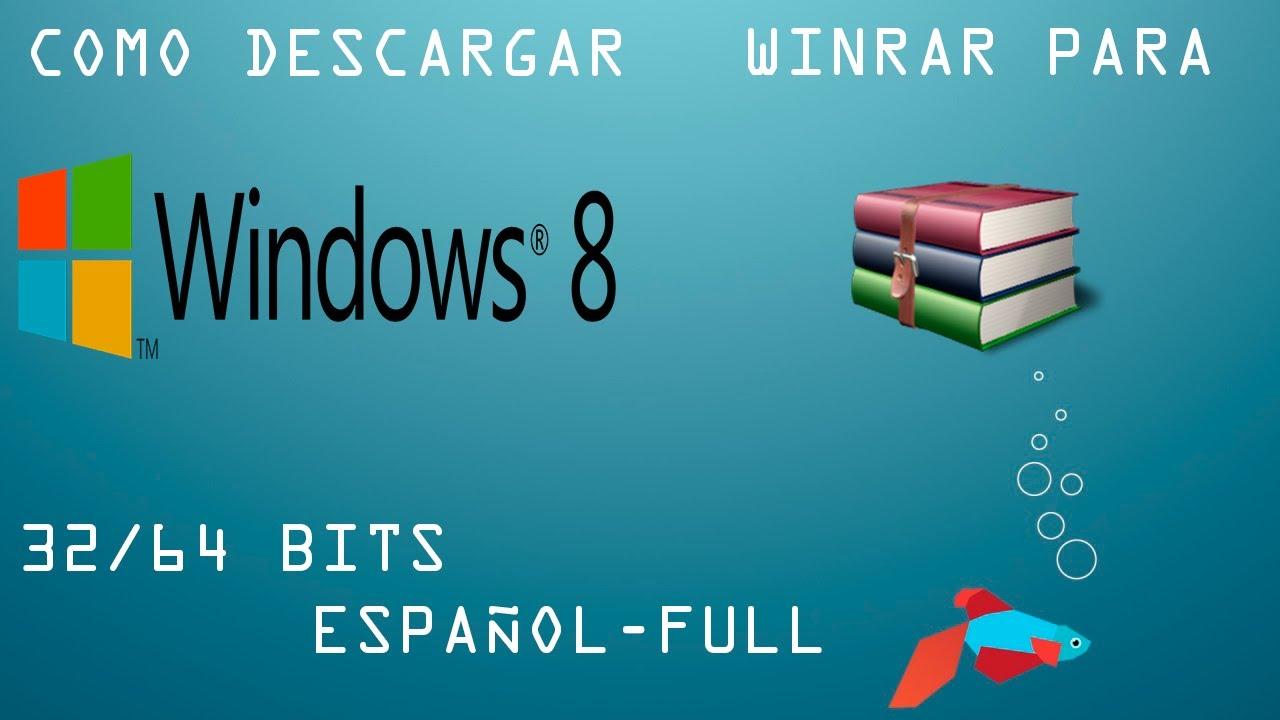 descargar winrar 64 bits full español crack