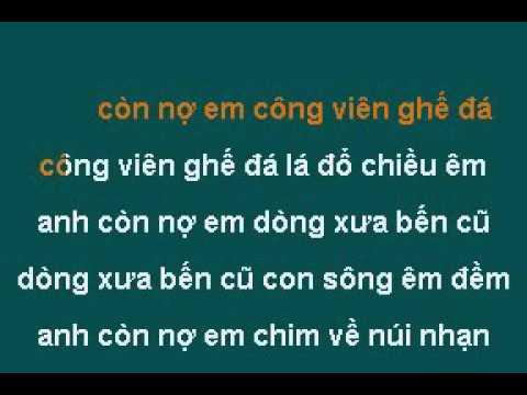 Anh Con No Em Quang Dung Karaoke