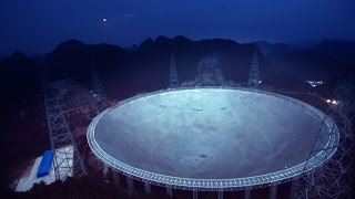 "China switches on world's  largest  radio telescope ""FAST"" today  to search for alien transmission"