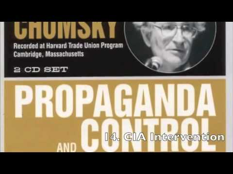 Noam Chomsky - Propaganda And Control Of The Public Mind Part 1