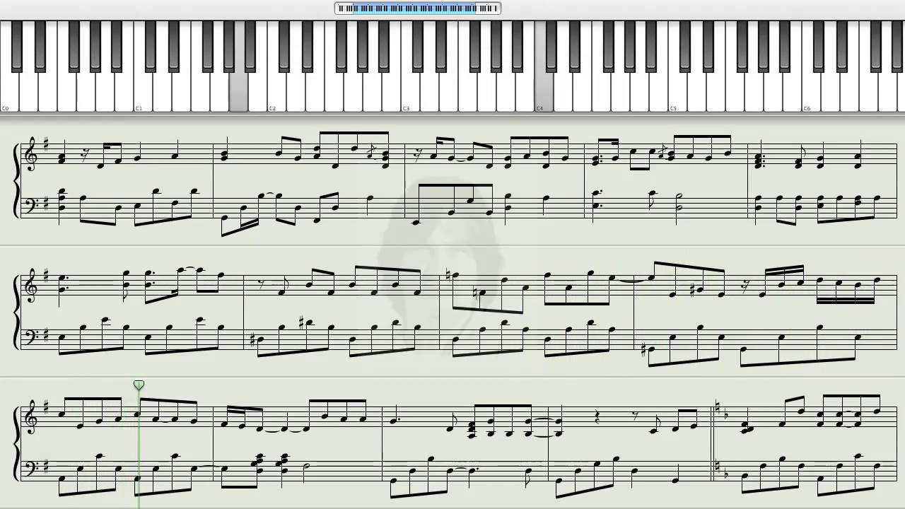 How to play tears in heaven eric clapton on the piano for Dietmar steinhauer