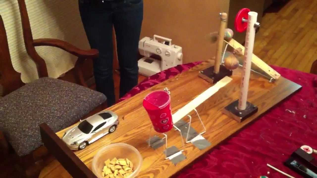 easy rube goldberg machine