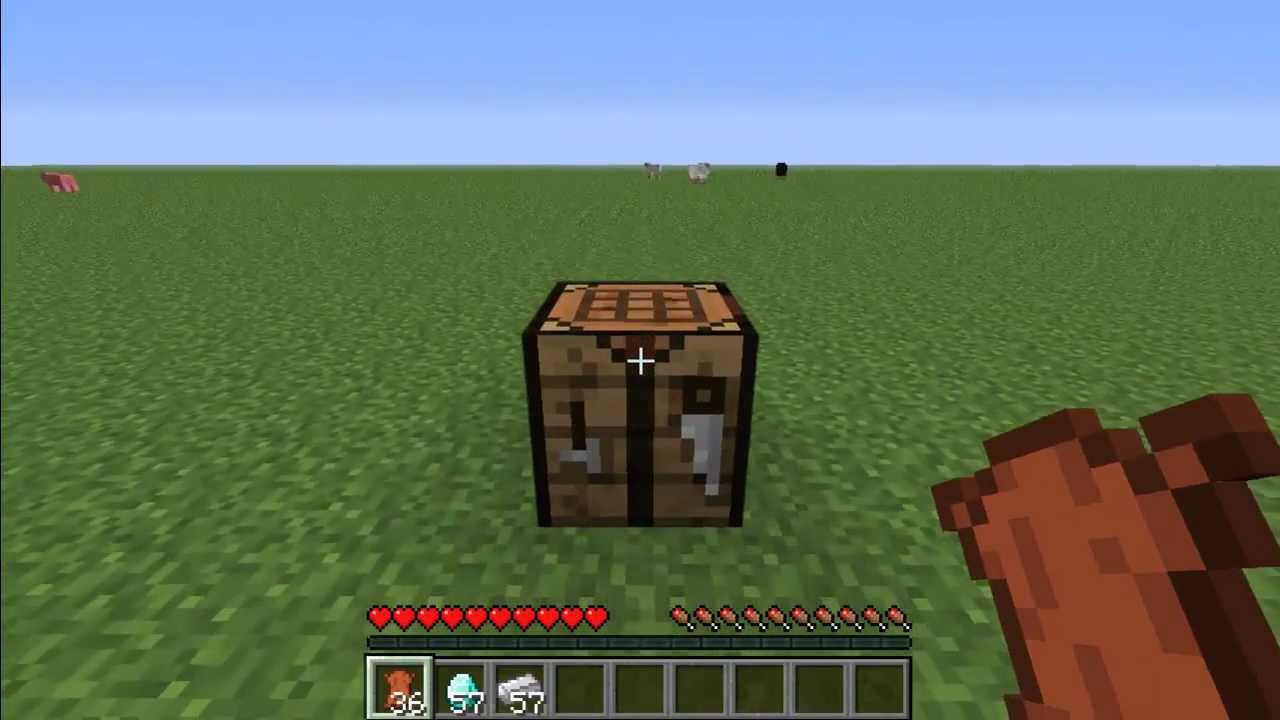 minecraft how to make iron boots