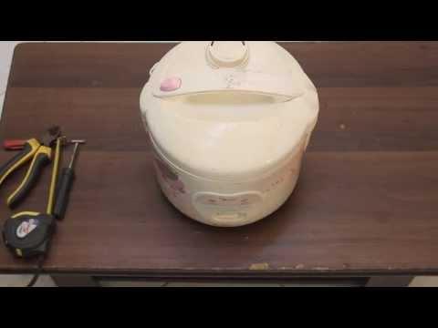 Cách khắc phục nồi cơm điện nấu sống hoặc khê