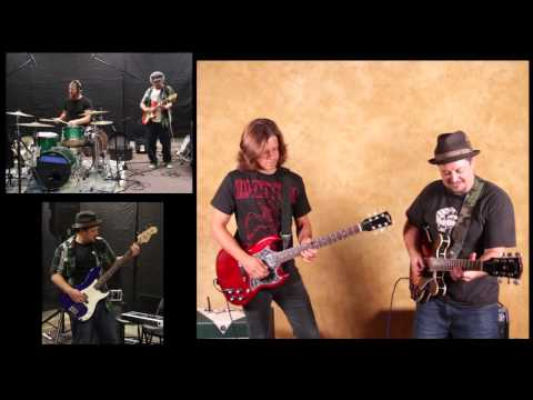 Eric Clapton and Cream Inspired Jam w Leo Howard on Guitar and Marty Schwartz
