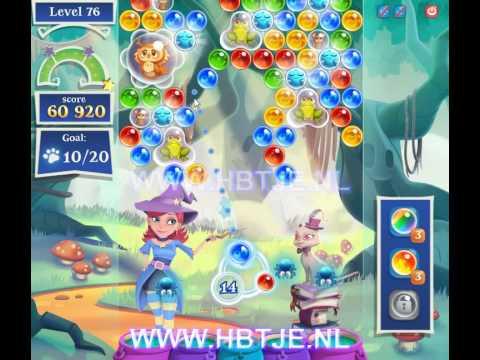 Bubble Witch Saga 2 level 76
