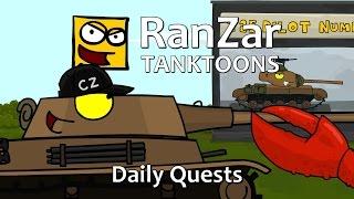 Tanktoon - Denné úkoly