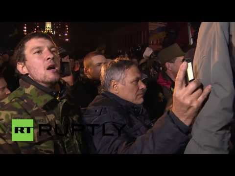 Ukraine: Klitschko speech booed by Maidan crowd