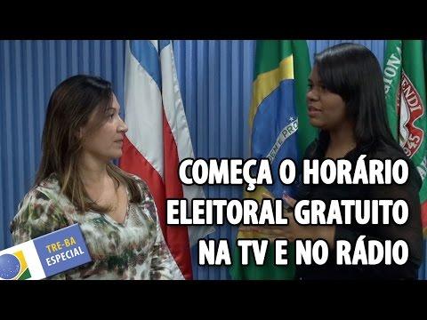 TRE-BA Especial: Horário eleitoral gratuito na TV e no rádio