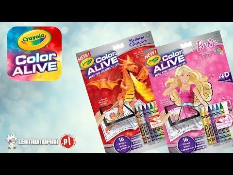 Crayola Colour Alive instrukcja używania