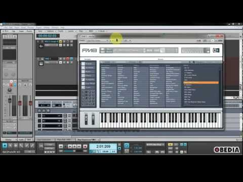 Sonar X1 - How to use SoftSynths
