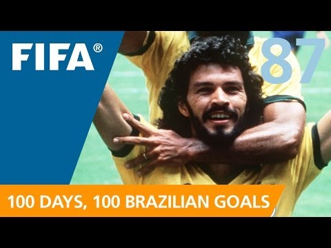 87 days to GO-AL! Socrates (Mexico 1986)