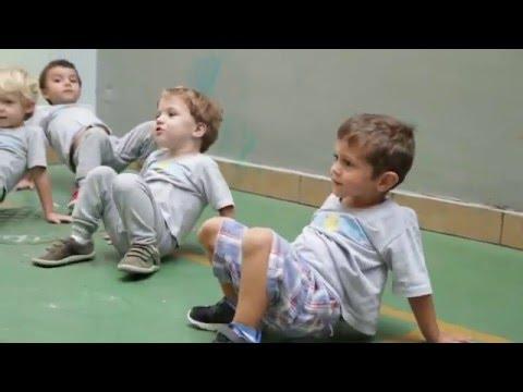 CAPOEIRA INFANTIL - DESENVOLVIMENTO MOTOR