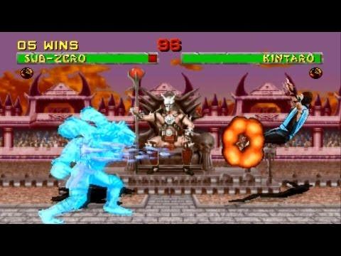 Hình ảnh trong video Mortal Kombat 2 arcade Sub Zero Gameplay