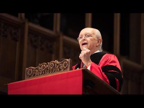 Mario Molina: 2017 Baccalaureate Address
