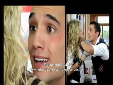 Rebelde Brasil - Tomás salva Roberta de Binho (25/01/2012)