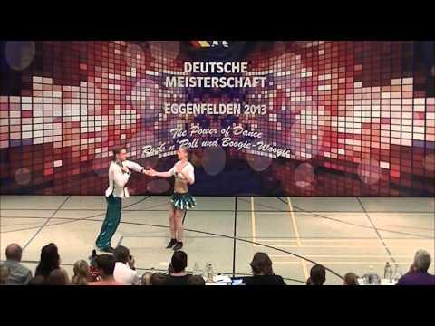 Chantal Roos & Pascal Roos - Deutsche Meisterschaft 2013