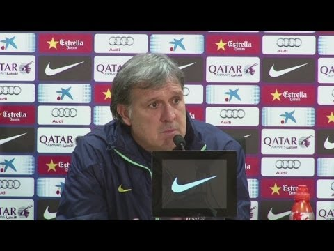 Gerardo Martino speaks ahead of Barcelona's derby with Espanyol