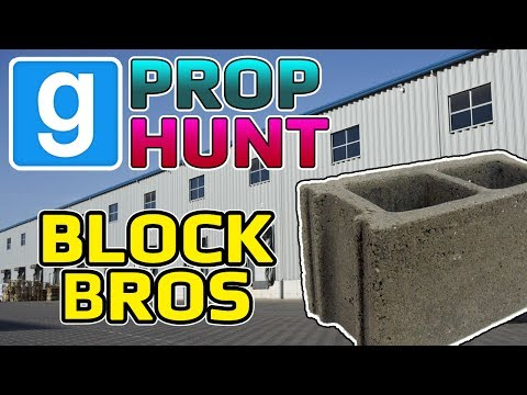 Block Bros (Garry's Mod Prop Hunt)
