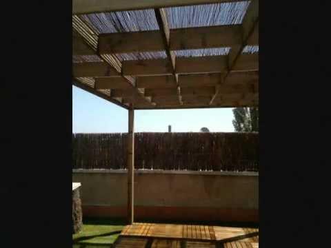 Exteriores terrazas aticos y patios con madera youtube - Iluminacion terrazas exteriores ...