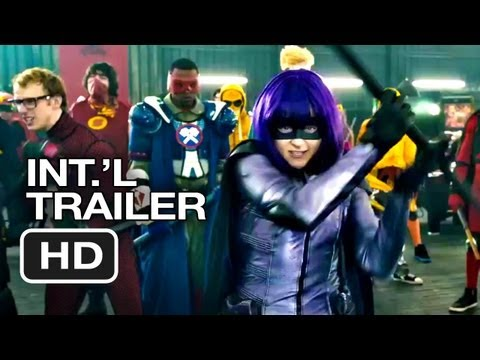 Kick-Ass 2 Official International Trailer #1 (2013) - Chloe Moretz Movie HD