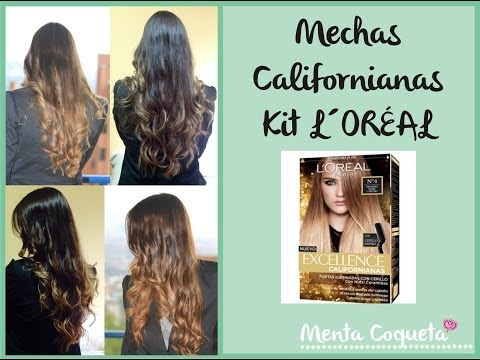 Mechas californianas - Kit L´Oreal Paris