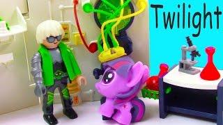 MLP Fashem's Twilight Mad Scientist Lab Unicorn Magic My