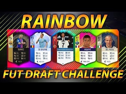 FIFA CHALLENGE: RAINBOW FUT DRAFT!