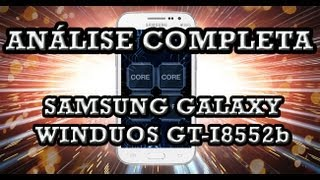 Analise Samsung Galaxy WinDuos GT-I8552b Pt-Br