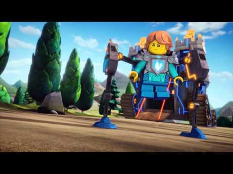 LEGO NEXO KNIGHTS - webizoda 8 - Odv�n� a smel� (a mal�) Sir Robin