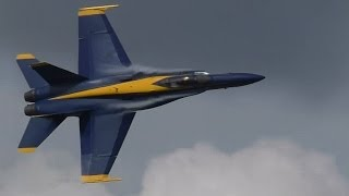 2014 Blue Angels @ SUN 'n FUN *NO Music OR Talking*!
