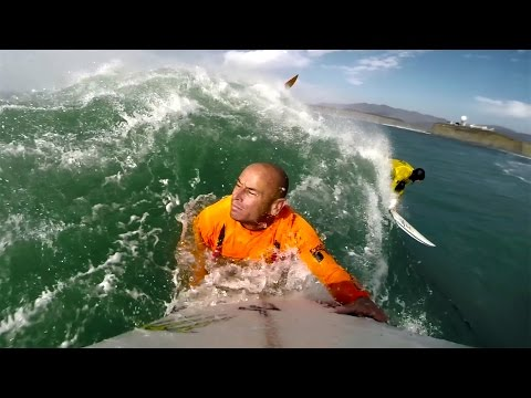 GoPro: Mavericks 2014 - серфинг