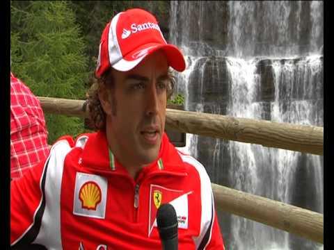 Ferrari: Alonso e Domenicali al Ferrari Wroom Summer 2011