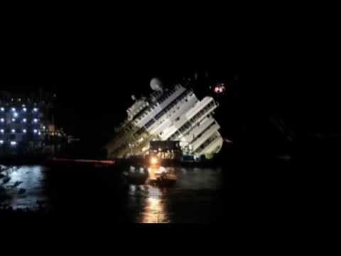 The 19-Hour Raise of Costa Concordia, in 2 Minutes