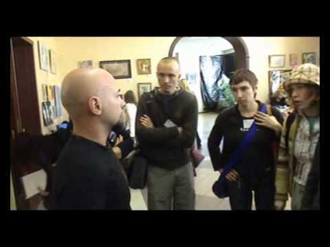 Йога-встреча, беседы в холле (27.10.2007)