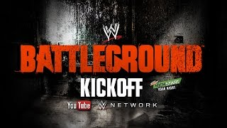 WWE Battleground 2014 Kickoff