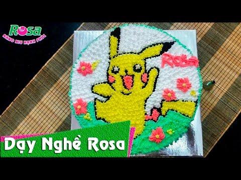 Pokémon GO - Bánh kem sinh nhật mẫu Pikachu siêu cute