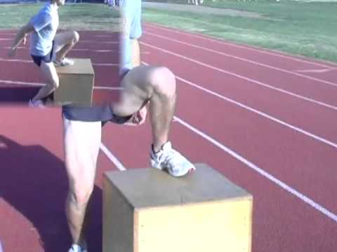 Steve Chavez's Coaching Drills and Exercises for Runners©: Strength Plyometric Drills