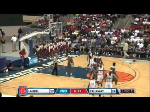 Callway #14 Malik Newman makes 3-pointer and gets foul call