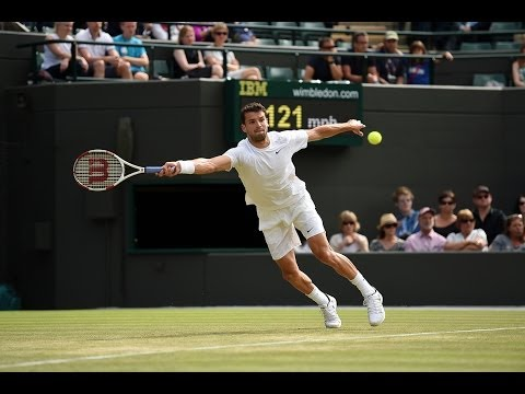 Highlights Day 5: Dimitrov downs Dolgopolov in five - Wimbledon 2014