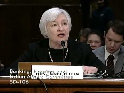 Senator Menendez Asks Janet Yellen Questions at Confirmation Hearing