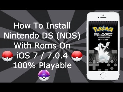 Install Nintendo DS (NDS) Emulator With Games On iOS 7 - 7.1.2 Without