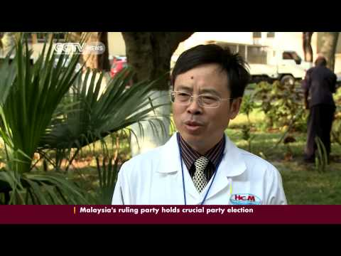 Chinese doctors have been assisting in local hospitals in Mozambique for nearly 40 years