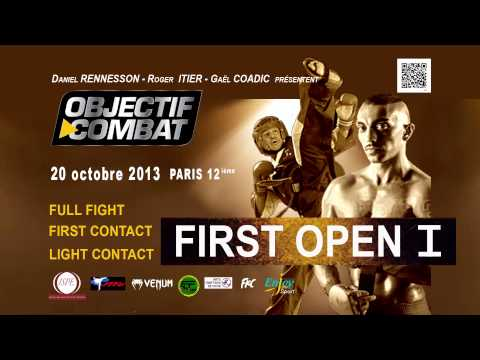 FIRST OPEN 1 -   LE 20 OCTOBRE 2013