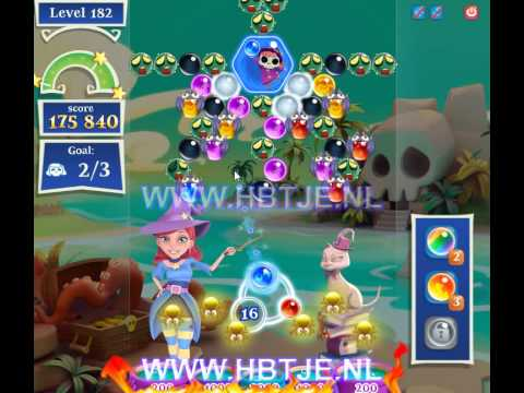 Bubble Witch Saga 2 level 182