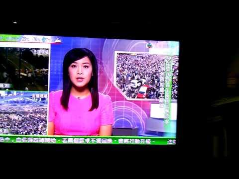 TVB 2014-09-28 佔中新聞報導
